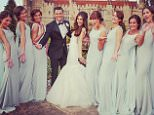 jesica wright - mark wrights wedding