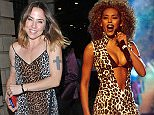 16 Jul 2015  - LONDON  - UK *** EXCLUSIVE ALL ROUND PICTURES *** MELANIE CHISHOLM AKA MEL C SPOTTED LEAVING MEMPHIS THE MUSICAL PERFORMANCE AT THE SHAFTESBURY THEATRE WHERE HER GOOD FRIEND MATT CARDLE WAS PERFORMING. MEL WAS WEARING A LEOPARD PRINT DRESS AND BLACK BOOTS! BYLINE MUST READ : XPOSUREPHOTOS.COM ***UK CLIENTS - PICTURES CONTAINING CHILDREN PLEASE PIXELATE FACE PRIOR TO PUBLICATION *** **UK CLIENTS MUST CALL PRIOR TO TV OR ONLINE USAGE PLEASE TELEPHONE  442083442007