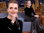cara delevingne jimmy fallon tonight show