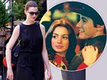 July 16, 2015: Anne Hathaway wears eyeglasses and carries a briefcase in New York City.\nMandatory Credit: Alberto Reyes/INFphoto.com Ref: infusny-261