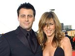 No Merchandising. Editorial Use Only. No Book Cover Usage.. Mandatory Credit: Photo by Everett/REX Shutterstock (3985049a).. Matt LeBlanc & Jennifer Aniston Arriving At The Golden Globes - Beverly Hills, CA, United States - 2004 (Matt LeBlanc & Jennifer Aniston).. Various.. ..
