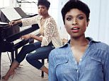"""Jennifer Hudson is celebrating the """"diversity"""" of New York City by modeling a new range of denims in 1970s style. """"What I love most about New York is the diversity. It's a haven for individuality and I have always found that to be inspiring,"""" said the Oscar-winning actress/musician, who is wearing garments from the New York & Company's Soho Jeans Collection in this new shoot. """"That sort of energy affects me in all ways but especially when it comes to my style,"""" added the Sex and the City movie star, who called the range """"fashion forward, great fitting and comfortable"""". The American Idol finalist, 33, is depicted in """"a familiar work environment"""" on the cobblestone set of a movie, on stage with a microphone in her hand, """"in a glamorous loft at a piano"""" and seated in a director's chair at a film studio. The affordable high street jeans cost under $70 USD per pair: They have been combined with '70s style fashions and accessories for the shoot. CREDIT: New York & Co/Splash\n\nPictured: J"""