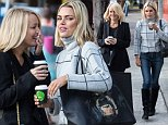 July 16th 2015: Sophie Monk & Jackie Henderson get a coffee together, looking happy & giggling like school girls.\nEXCLUSIVE\n Mandatory Credit: INFphoto.com Ref: infausy-10/17