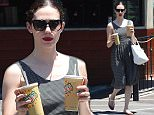 Emmy Rossum Carries Two Drinks at a Taco Stand in The Valley\n\nPictured: Emmy Rossum\nRef: SPL1081776  170715  \nPicture by: All Access Photographer Group\n\nSplash News and Pictures\nLos Angeles: 310-821-2666\nNew York: 212-619-2666\nLondon: 870-934-2666\nphotodesk@splashnews.com\n