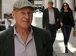Patrick Stewart and wife Sunny Ozell spotted out enjoying a stroll through Central London.  Ref: SPL1081462  170715   Picture by: BACP / Splash News  Splash News and Pictures Los Angeles: 310-821-2666 New York: 212-619-2666 London: 870-934-2666 photodesk@splashnews.com