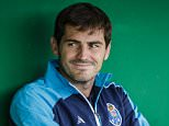 Mandatory Credit: Photo by Hoogte/REX Shutterstock (4903752g)  Iker Casillas  Fortuna Sittard and FC Porto  International friendly football match at the Trendwork Arena in Sittard, The Netherlands - 15 Jul 2015