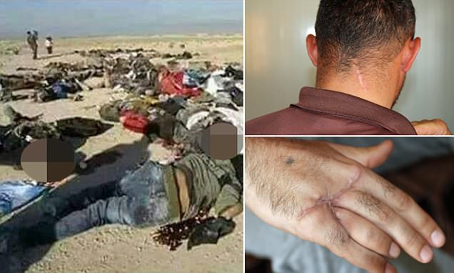 ISIS gunmen checked boys' ages by their armpit hair say Yazidi refugees