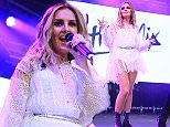 Little Mix Play Thorpe Park Island Beats, on the day Black Magic goes to NO1 in the UK.\nFeaturing: Perrie Edwards\nWhere: London, United Kingdom\nWhen: 17 Jul 2015\nCredit: David Sims/WENN.com