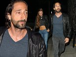 Adrien Brody and girlfriend Lara Lieto go to Craig's Restaurant in West Hollywood, California.\nPics taken July 17th\n\nPictured: Adrien Brody And Lara Lieto\nRef: SPL1081758  180715  \nPicture by: Photographer Group / Splash News\n\nSplash News and Pictures\nLos Angeles: 310-821-2666\nNew York: 212-619-2666\nLondon: 870-934-2666\nphotodesk@splashnews.com\n