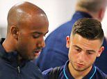 19.7.15...... Manchester City's newest signings Fabian Delph and Patrick Roberts fly out to Australia on Sunday morning along with City legend Mike Summerbee. The 2 new players didn't quite get the same service that Raheem Sterling did days earlier. Raheem was met by armed police and walked straight through without checking-in or stopping at the normal security chesk point. The 2 new City players queued up at check-in for 10  minutes before joining the priority security check point queue.