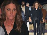 Caitlyn Jenner dressed in black for dinner at Nobu, in Malibu, with girlfriends, on Friday, July 17, 2015  X17online.com