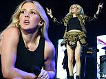 EXCLUSIVE: Ellie Goulding plays drums During her performance at the Gurten Festival in Bern, Switzerland  Pictured: Ellie Goulding Ref: SPL1053121  170715   EXCLUSIVE Picture by: Starlite / Splash News  Splash News and Pictures Los Angeles: 310-821-2666 New York: 212-619-2666 London: 870-934-2666 photodesk@splashnews.com