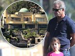 EXCLUSIVE TO INF...July 15, 2015: Mel Gibson & daughter Lucia Gibson spotted in Sydney hotel pool area, than taking a walk to a Sydney wharf, Sydney, Australia...Mandatory Credit: INFphoto.com Ref: infausy-12