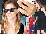 Jennifer Garner picks up balloons in Atlanta, Georgia before heading to a party. The actress was still wearing her wedding ring as she carried the balloons to her car in a black dress and white sandals.\n\nPictured: Jennifer Garner\nRef: SPL1080583  190715  \nPicture by: Splash News\n\nSplash News and Pictures\nLos Angeles: 310-821-2666\nNew York: 212-619-2666\nLondon: 870-934-2666\nphotodesk@splashnews.com\n