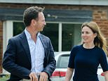EXCLUSIVE: Geri Halliwell Meets Christian Horner at the red bull racing headquarters in milton keynes, geri was seen filling her aston martin up at the petrol station, forgetting to close the petrol cap, geri had to stop to close it, geri then drove to milton keynes to meet up with her new husband christian who had a dinner break with geri and took her to a local pub for lunch.  Pictured: Geri Halliwell, Christian Horner Ref: SPL1078782  150715   EXCLUSIVE Picture by: NW/KP  Splash News  Splash News and Pictures Los Angeles: 310-821-2666 New York: 212-619-2666 London: 870-934-2666 photodesk@splashnews.com