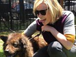 Chelsea Handler and her new dog