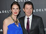 Mandatory Credit: Photo by Startraks Photo/REX Shutterstock (2127699at).. Stephanie March, Bobby Flay.. Delta Airlines Pre-Grammy Party, Los Angeles, America - 07 Feb 2013.. Delta Air Lines celebrates L.A.'s music industry with Getty House Reception..