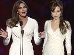 Caitlyn Jenner accepts the Arthur Ashe award for courage at the ESPY Awards at the Microsoft Theater on Wednesday, July 15, 2015, in Los Angeles. (Photo by Chris Pizzello/Invision/AP)