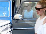 """Picture Shows: Iggy Azalea  July 16, 2015\n \n Aussie rapper Iggy Azalea is spotted leaving Epione Cosmetic Dermatology in Beverly Hills, California. Iggy, who recently got engaged to NBA star Nick Young, revealed on Twitter that she wants to wear a classic wedding dress tweeting, """"Hmmmm I'm def wearing white or ivory. I do want a pretty traditional style wedding."""" \n \n Non-Exclusive\n UK RIGHTS ONLY\n \n Pictures by : FameFlynet UK © 2015\n Tel : +44 (0)20 3551 5049\n Email : info@fameflynet.uk.com"""