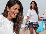 140252, Nikki Reed does her part and leads a trash pick up in Santa Monica. Los Angeles, California - Saturday July 18, 2015. Photograph: KVS, © PacificCoastNews. Los Angeles Office: +1 310.822.0419 sales@pacificcoastnews.com FEE MUST BE AGREED PRIOR TO USAGE