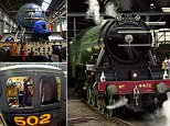 File photo dated 04/07/1999 of the Flying Scotsman as restoration work on the steam engine is currently being undertaken by Riley & Son Ltd in Bury, Greater Manchester. PRESS ASSOCIATION Photo. Issue date: Sunday July 19, 2015. The locomotive was bought by National Railway Museum in 2004 for £2.3 million with costs of the restoration currently at £4.2m. Photo credit should read: Toby Melville/PA Wire
