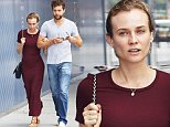 EXCLUSIVE: Diane Kruger spotted wearing red while shopping with boyfriend Joshua Jackson in the Meatpacking district of NYC\n\nPictured: Diane Kruger, Joshua Jackson\nRef: SPL1078943  180715   EXCLUSIVE\nPicture by: J. Webber / Splash News\n\nSplash News and Pictures\nLos Angeles: 310-821-2666\nNew York: 212-619-2666\nLondon: 870-934-2666\nphotodesk@splashnews.com\n