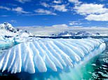 A general view of the Paradise Bay in Antarctic Peninsula, Antarctica.