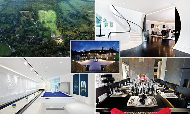 London mansion with cinema, bowling alley and GOLF COURSE selling for £20m