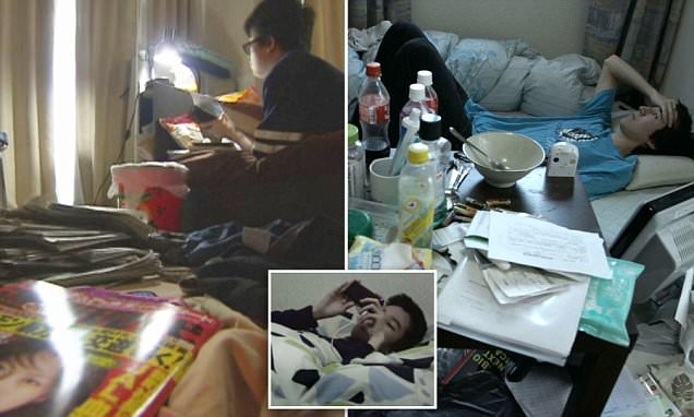 Hikikomori the condition causing Japanese men to lock themselves inside for YEARS