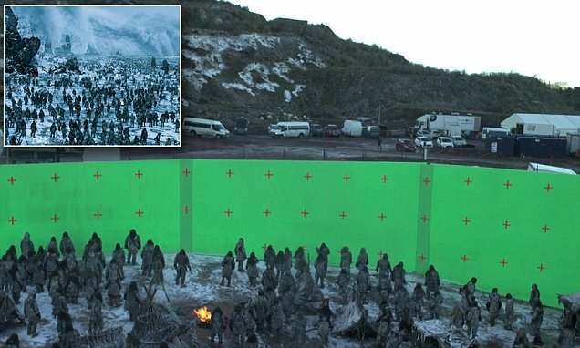 Game Of Thrones behind-the-scenes footage reveals tricks used to create Hardhome battle