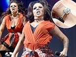 Mandatory Credit: Photo by MCPIX/REX Shutterstock (4905926bi)  Jesy Nelson performs with Little Mix wearing her engagement ring after boyfriend Jake Roche proposed to her earlier in the evening  Key 103 Summer Live, Manchester, Britain - 19 Jul 2015