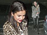 Selena Gomez, Australian Renee Bargh and Actress Francia Raisa were seen leaving 'The Nice Guy' bar in West Hollywood, CA\n\nPictured: Selena Gomez, Renee Bargh, Francia Raisa\nRef: SPL1082642  190715  \nPicture by: SPW / Splash News\n\nSplash News and Pictures\nLos Angeles: 310-821-2666\nNew York: 212-619-2666\nLondon: 870-934-2666\nphotodesk@splashnews.com\n