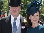 Earl Spencer and his new wife Karen Gordon enjoying  the third day of Royal Ascot. Picture David Parker 18.6.15
