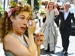 18.JULY.2015 - ROME - ITALY\n** EXCLUSIVE ALL ROUND PICTURES TO ALL UK NEWSPAPERS **\n**NOT AVAILABLE FOR ITALY**\nENGLISH ACTRESS ALEX KINGSTON MARRIES JONATHAN STAMP AT THE ALL SAINTS ANGLICAN CHURCH IN ROME\n***UK CLIENTS - PICTURES CONTAINING CHILDREN PLEASE PIXELATE FACE PRIOR TO PUBLICATION ***\nBYLINE MUST READ:  XPOSUREPHOTOS.COM\n*GERMAN CLIENTS, PLEASE CALL TO AGREE FEE PRIOR TO PUBLICATION*\n*UK CLIENTS MUST CALL PRIOR TO TV OR ONLINE USAGE PLEASE TELEPHONE 0208 344 2007*