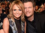 LOS ANGELES, CA - FEBRUARY 08:  Miranda Lambert and Blake Shelton attend The 57th Annual GRAMMY Awards at STAPLES Center on February 8, 2015 in Los Angeles, California.  (Photo by Kevin Mazur/WireImage)