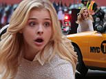 Picture Shows: Chloe Grace Moretz  July 18, 2015\n \n Actress Chloe Grace Moretz is spotted filming scenes for 'Brain On Fire' in Vancouver, Canada. \n \n During the scene, with the set made to look like the streets of New York City, Chloe is nearly hit by a taxi cab while crossing the street. \n \n Exclusive All Rounder\n UK RIGHTS ONLY\n FameFlynet UK © 2015\n Tel : +44 (0)20 3551 5049\n Email : info@fameflynet.uk.com