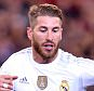 epa04851701 Sergio Ramos of Real Madrid runs with the ball during the match 1 between Real Madrid and AS Roma of the International Champions Cup, at the MCG in Melbourne, Australia, 18 July 2015.  EPA/JOE CASTRO AUSTRALIA AND NEW ZEALAND OUT