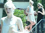 Picture Shows: Elle Fanning  July 19, 2015\n \n Actress Elle Fanning stops by a friend's house in West Hollywood, California. Elle looked cute in a babydoll dress.\n \n Exclusive All Rounder\n UK RIGHTS ONLY \n FameFlynet UK © 2015\n Tel : +44 (0)20 3551 5049\n Email : info@fameflynet.uk.com