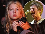 SOUTHWOLD, ENGLAND - JULY 19:  Anas Gallagher wathced her father Noel Gallagher perform on day 4 of Latitude Festival at Henham Park Estate on July 19, 2015 in Southwold, England.   Pic Credit: Dave J Hogan