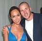 07/08/2005 Party at The Sanderson Hotel following the UK Premiere of 'The Island' Myleene Klass and Graham Quinn