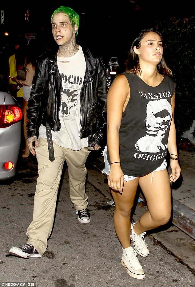 Who's that girl? Ricky Hil wasted no time in enjoying his first night out as a singleton as he left Greystone Manor in West Hollywood with a mystery brunette in tow on Sunday