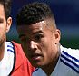 Chelsea FC via Press Association Images MINIMUM FEE 40GBP PER IMAGE - CONTACT PRESS ASSOCIATION IMAGES FOR FURTHER INFORMATION. Chelsea's Kenedy, Cesc Fabregas during a training session on 17th July 2015 at the Montreal Impact Training Centre in Parc Champetre, Canada.