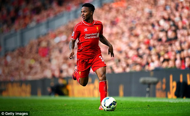 Sterling rejected a new £100,000-a-week contract at Liverpool last season and is now set to earn far more
