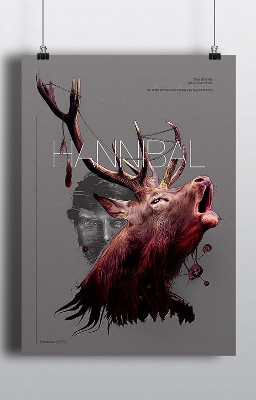 Image of Hannibal Poster print