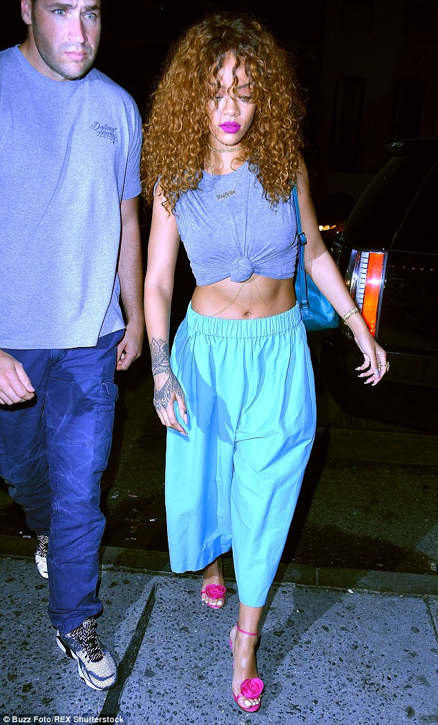 Worrying: Over the last few years Rihanna has dealt with similar situations involving trespassers and stalkers