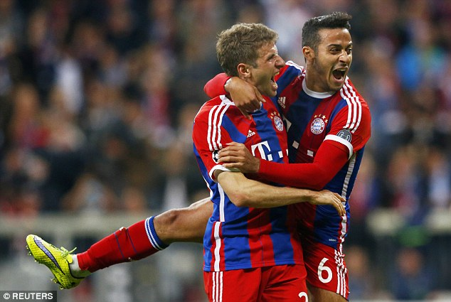 Thiago may be a talent, but there is a feeling among fans that Schweinsteiger is in Bayern's DNA