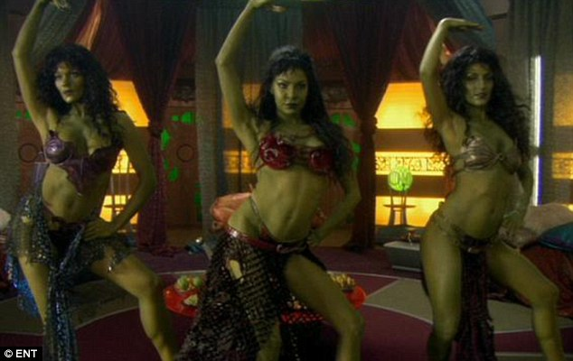Space girls: The Orion Girls have become iconic since appearing on Star Trek Enterprise in 2005