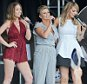 12.JULY.2015  - SOUTH SHIELDS  - UK *** EXCLUSIVE ALL ROUND PICTURES AVAILABLE FOR UK NEWSPAPERS ONLY *** KERRY KATONA PERFORMS WITH ATOMIC KITTEN AT THE SOUTH TYNESIDE FESTIVAL WHILE HER CHILDREN WATCH FROM THE SIDEOF THE STAGE. THIS IS THE FIRST TIME KERRY HAS BEEN PICTURED SINCE SPLITTING FROM HER HUSBAND GEORGE KAY FOR THE SAFETY OF HER CHILDREN. BYLINE MUST READ : XPOSUREPHOTOS.COM ***UK CLIENTS - PICTURES CONTAINING CHILDREN PLEASE PIXELATE FACE PRIOR TO PUBLICATION *** **UK CLIENTS MUST CALL PRIOR TO TV OR ONLINE USAGE PLEASE TELEPHONE  442083442007