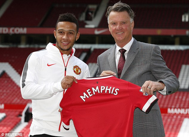 The three new signings join Memphis Depay, who joined the club for £25m before the end of the last campaign
