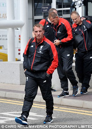 Brendan Rogers jets off to Asia without Sterling